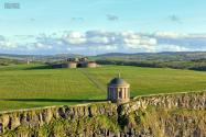 Mussenden Temple is a small circular building located on cliffs near Benone. Operated by the National Trust, there is a charge at the gate, unless you go after hours. They close at 5pm, but the grounds are still accessible to the public from the carpark.…
